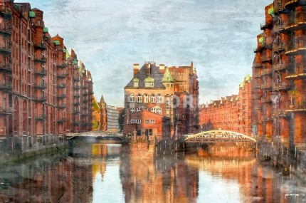Hamburg Speicherstadt 14 – 120 x 80 cm