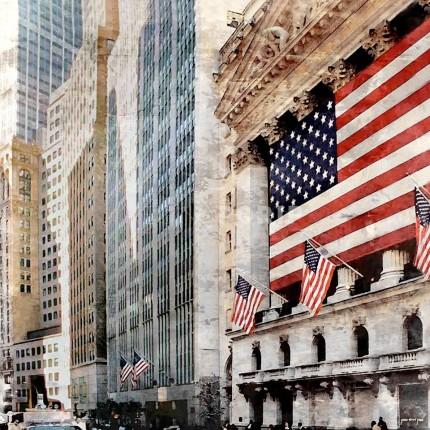 New York Wall Street – 60 x 60 cm