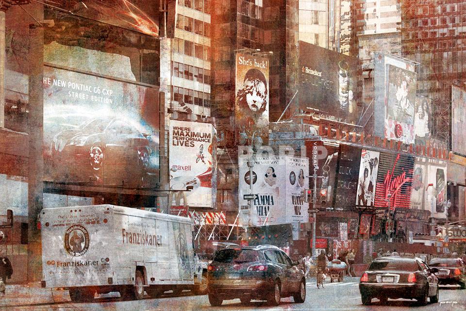 New York Les Miserables 1 – 120 x 80 cm