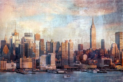 New York Manhatten 1 – 105 x 70 cm