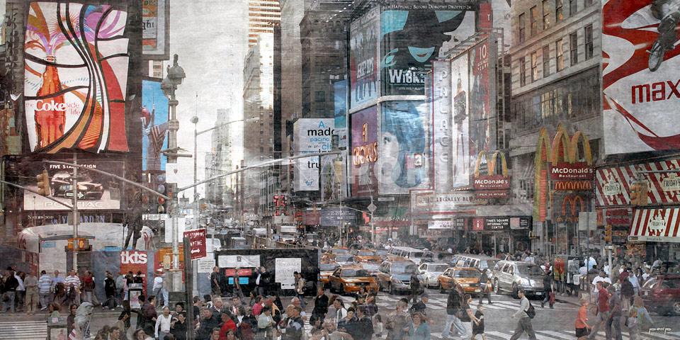 New York Broadway 11 – 120 x 60 cm