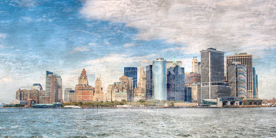 New York Skyline 7 – 120 x 60 cm