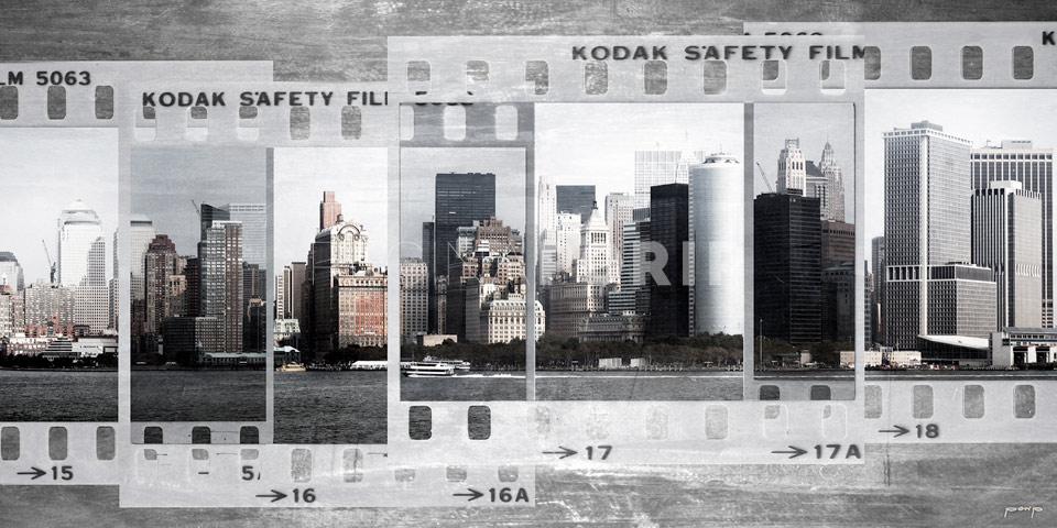 New York Skyline – 100 x 50 cm