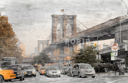 New York Brooklyn Bridge 7 – 100 x 65 cm
