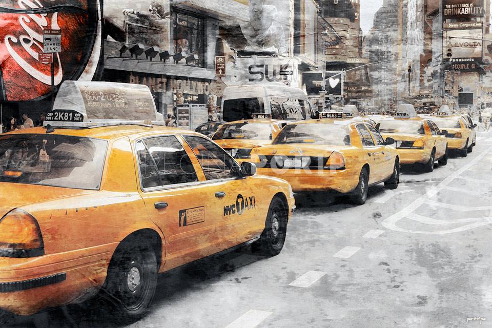 New York Broadway 20 – 105 x 70 cm