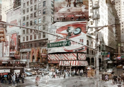 New York Broadway 8 – 115 x 80 cm