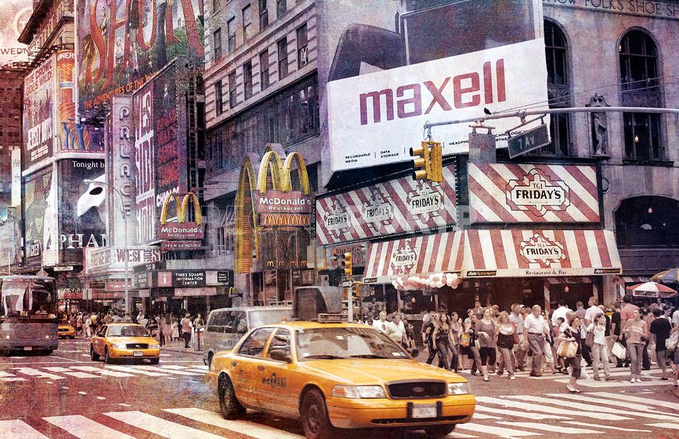 New York Broadway 18 – 110 x 70 cm