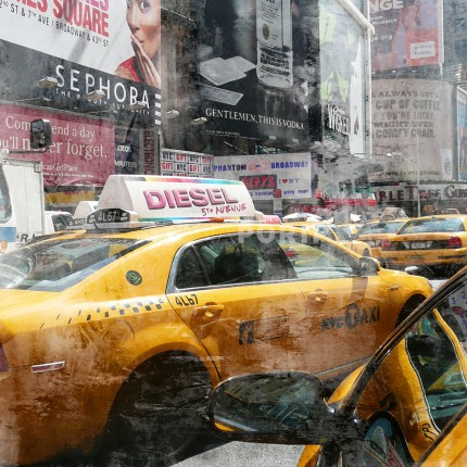 New York Times Square 8a – 70 x 70 cm