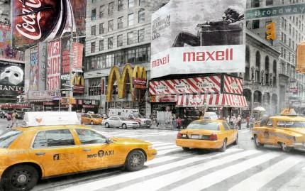 New York Broadway 19 – 105 x 65 cm