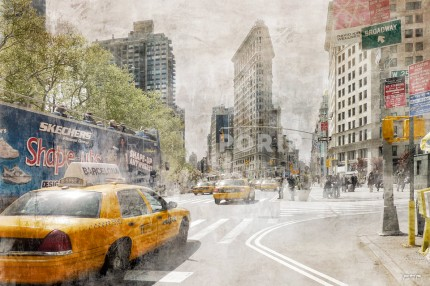 New York Flatiron 5b – 120 x 80 cm