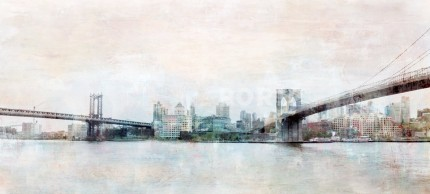 New York Brooklyn Bridge 8 – 80 x 35 cm