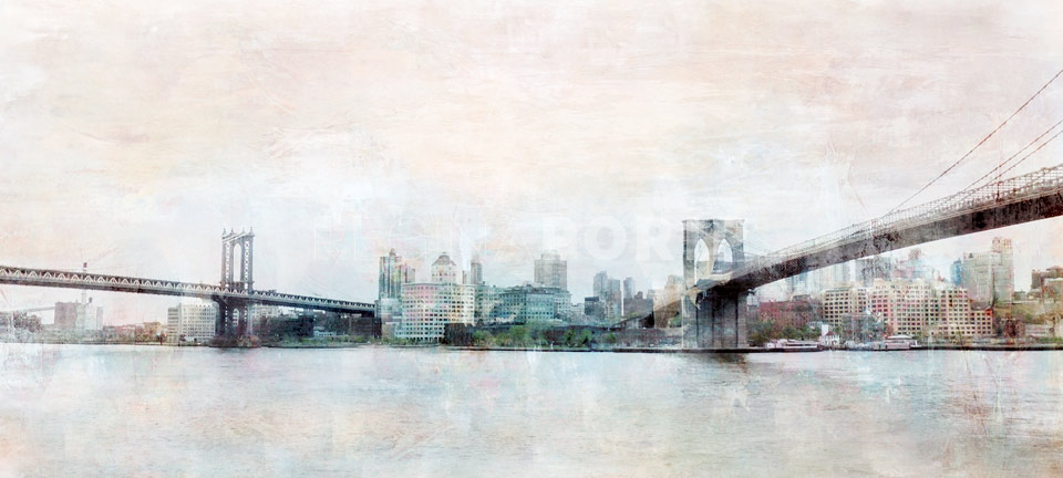 New York Brooklyn Bridge 8 – 80 x 35 cm